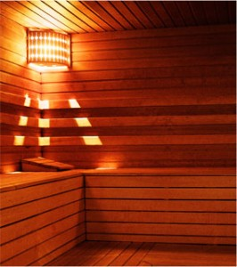 Sauna baths